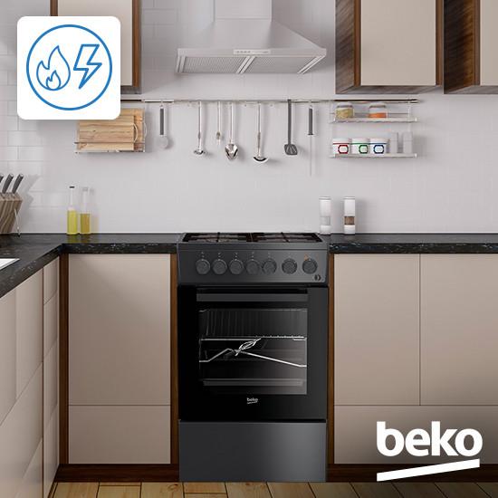 Отдельностоящая плита Beko FSM62330DWT – где купить, описание,  характеристики   Официальный сайт