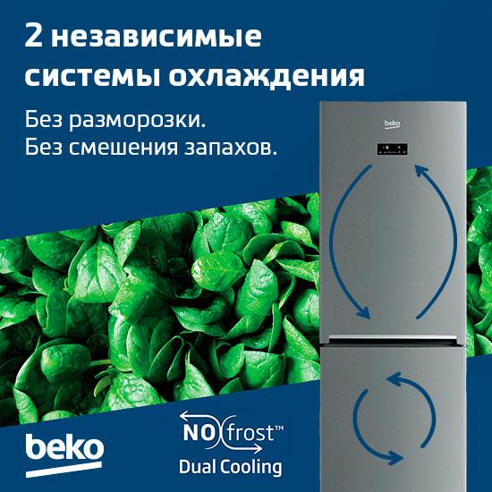 Технология NoFrost Dual Cooling